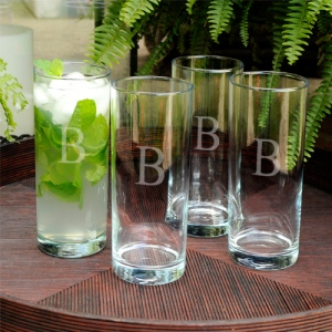 JDS Personalized Portico Cooler Glass Set