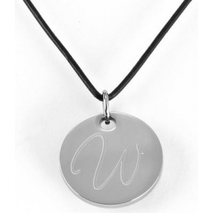 JDS Personalized Pendant Necklace: Round