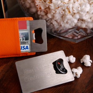 JDS Personalized Credit Card Bottle Opener