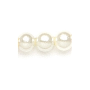 Mariell Classic 8mm Pearl Stud Wedding Earrings: Ivory, Clip, Silver