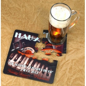 JDS Personalized Coaster Puzzle Set