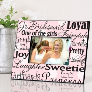 JDS Personalized Frames: Junior Bridesmaid