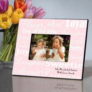 JDS Personalized Frames: Flower Girl