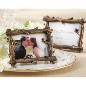 Scenic View, Tree-Branch Place Card, Photo Holder