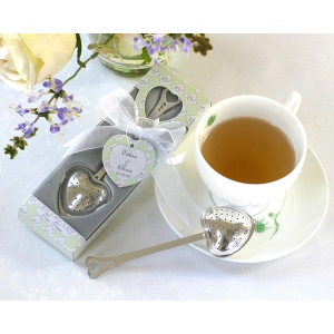 Tea Time, Heart Tea Infuser in Tea-Time Gift Box
