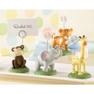 Born To Be Wild, Animal Place Card, Photo Holders: Set of 4, Assorted