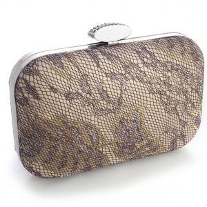 Mariell Lacey Evening Minaudiere with Champagne Shimmer