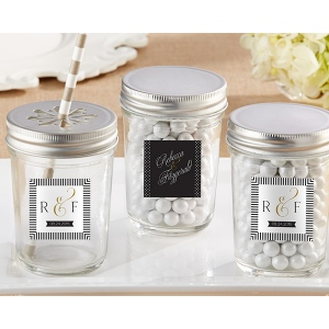 Personalized Mason Jar, Classic: Set of 12