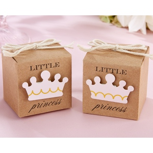 Little Princess Kraft Favor Box: Set of 24