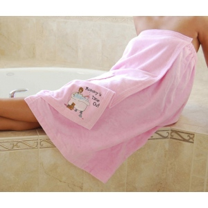 Lillian Rose Bath Wrap Mommy's Time Out