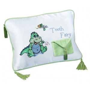 Lillian Rose Dinosaur Tooth Fairy Pillow