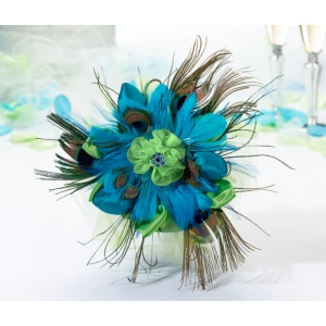 Lillian Rose Peacock Bouquet