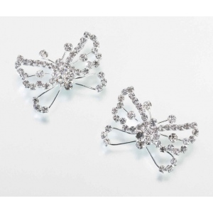 Lillian Rose Set of 2 Butterfly Flower Picks