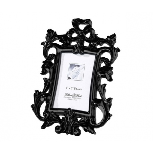 Lillian Rose Black Scroll Frame 4 x 6
