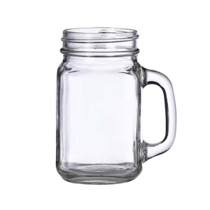 Lillian Rose Single Mason Jar Mug