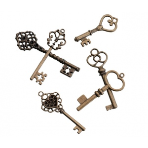 Lillian Rose 24 Bronze Keys
