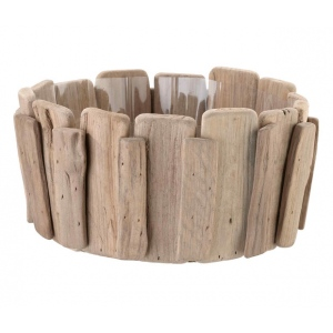 Lillian Rose Wood Basket For Chips