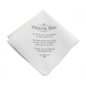 Lillian Rose Men's Thank You Hankie