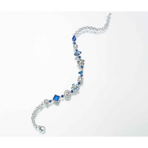 Lillian Rose Something Blue Anklet