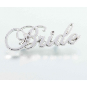 Lillian Rose Rhinestone Bride Pin