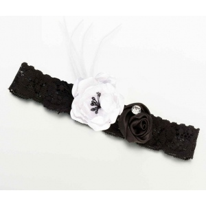 Lillian Rose Vintage Garter - Black