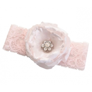 Lillian Rose Blush Pink Garter