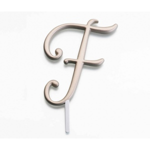 Lillian Rose Gold Monogram - F