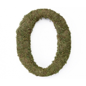 Lillian Rose Large 15 inch Moss Monogram Letter - O