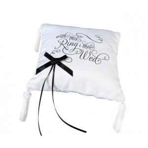 Lillian Rose With This Ring I Thee Wed Ring Pillow
