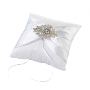 Lillian Rose Jeweled Motif Ring Pillow