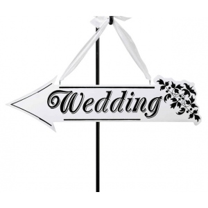 Lillian Rose Wedding Arrow Sign