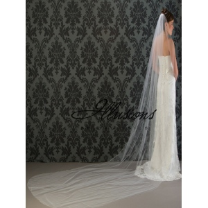 Illusions Bridal Corded Edge Veil 7-1441-C