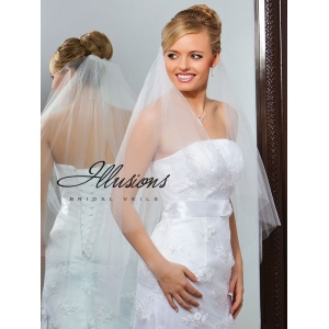 Illusions Bridal Cut Edge Veil C7-362-CT