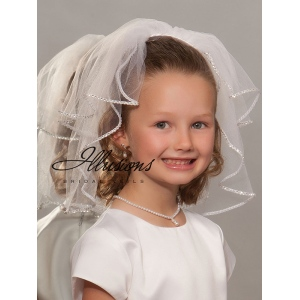Illusions Bridal Flower Girl and First Communion Veils MS-152-RS