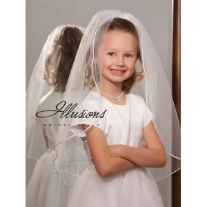 Illusions Bridal Flower Girl and First Communion Veils M-251-RT