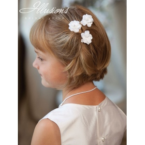 Illusions Bridal Flower Girl and First Communion Accessories 3176
