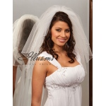 Illusions Bridal Corded Edge Veil S1-202-C