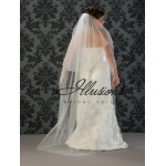 Illusions Bridal Beaded and Specialty Veils V-7022: Long Beaded Edge