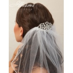 Illusions Bridal Hair Accessory 2870: Rhinestone