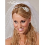 Illusions Bridal Headband 2861: Rhinestone