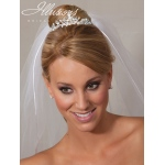 Illusions Bridal Tiara 2848: Small