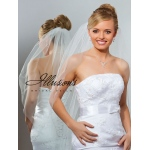 Illusions Bridal Cut Edge Veil 1-361-CT