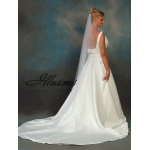 Illusions Bridal Pearl Edge Veil C7-721-P
