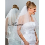 Illusions Bridal Pearl Edge Veil C1-302-P