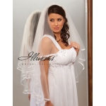 Illusions Bridal Ribbon Edge Veil C7-362-3R