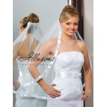 Illusions Bridal Ribbon Edge Veil 5-301-7R-RS