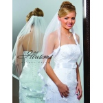 Illusions Bridal Ribbon Edge Veil 1-361-7R-RS