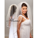 Illusions Bridal Ribbon Edge Veil 1-361-3R