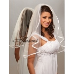 Illusions Bridal Ribbon Edge Veil 1-251-3R