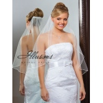 Illusions Bridal Soutache Edge Veil C7-301-ST